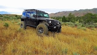 Jeep Wrangler Road Trip - LA to Seattle the Hard Way Off Road Every Day!