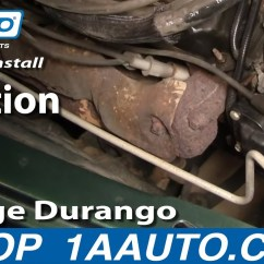 2001 Dodge Caravan Starter Wiring Diagram Ceiling Fan Speed Control How To Install Replace Ignition Coil Durango Dakota 3.9l 5.2l 5.9l 98-03 1aauto.com - Youtube