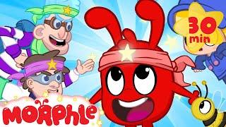 Ninja Morphle! - My Magic Pet Morphle   Cartoons For Kids   Morphle TV   BRAND NEW