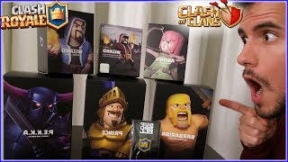 ¡¡ UNBOXING ESPECIAL SUPERCELL !! EDICION LIMITADA CLASH ROYALE y CLASH OF CLANS