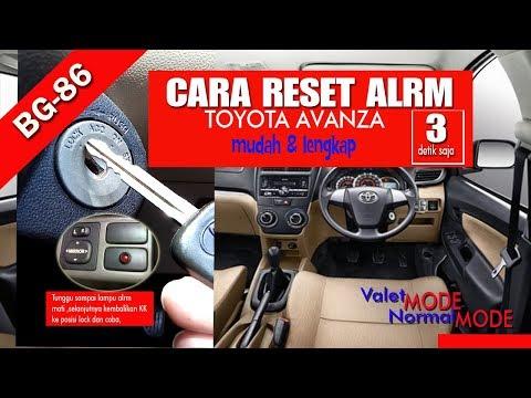 cara setting alarm grand new avanza jual bodykit silent all videomoviles com reset toyota dengan mudah