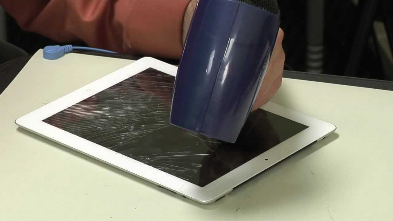 How to: Fix a broken front panel on your iPad 2 or iPad 3 - YouTube