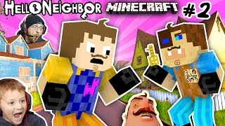 Download MINECRAFT HELLO NEIGHBOR & HIS BROTHER FIGHT 4 Basement Key |FGTEEV Scary Roleplay Games for Kids #2 Video