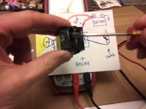 Harley 6 Pole Wiring Diagram Relays How To Wire And How They Work Tutorial Youtube