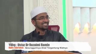 ″NIAT TAK MASUK-MASUK″ - DR ROZAIMI RAMLE (SALAH FAHAM TENTANG NIAT)