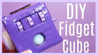 DIY Fidget Cube using Cardboard!