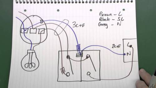 small resolution of motion sensor light wiring three wire