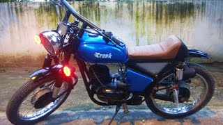 Best ever restoration and customization/modification of Rajdoot 175cc by Lovekesh kushwah