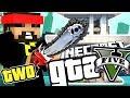Minecraft GTA 5: THE CHAINSAW IS BROKEN!! [2]