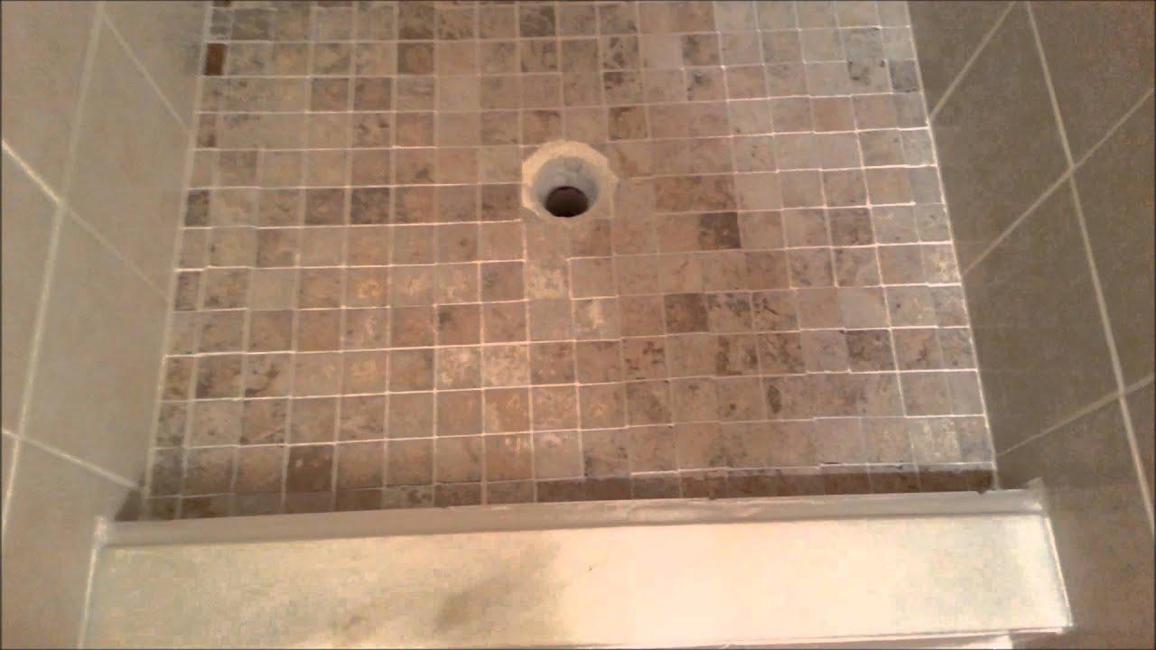 Tile Redi Shower Pan install  YouTube