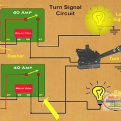 Led Flasher Unit Wiring Diagram What Is A Cycle How To Make Relay Turn Signal - Youtube