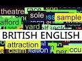 3000+ Common English Words with British Pronunciation