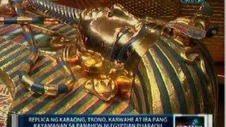 Saksi: Replika ng kabaong, trono, karwahe at iba pang kayamanan