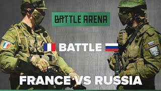 France VS Russia. Airsoft FPS. Exhibition game! || GoPro || BattleArena
