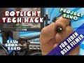 Rotlicht Tech-Hack für DSLR Kameras / Für meine Sony Alpha 7rII / Erfindung / Project Bang