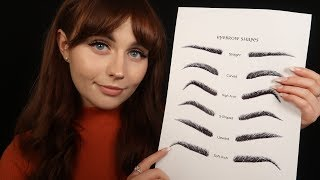 [ASMR] The Brow Salon - Plucking, Shaping, Personal Attention