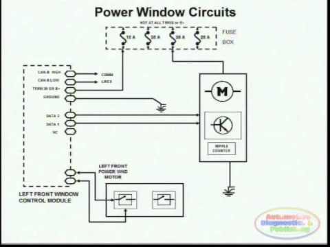 2006 jetta wiring diagram electrical light switch power window 2 - youtube