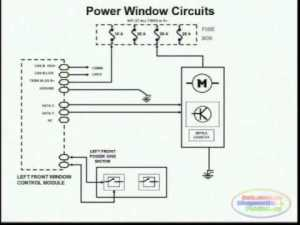 Power Window Wiring Diagram 2  YouTube