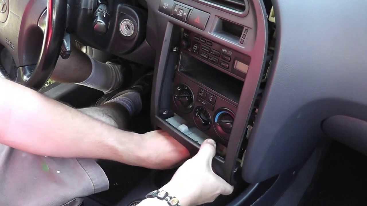 2002 Hyundai Santa Fe Radio Wiring Harness