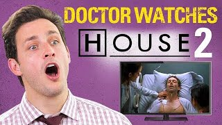 Doctor Reacts to HOUSE M.D #2. | ″Three Stories″ | Medical Drama Review