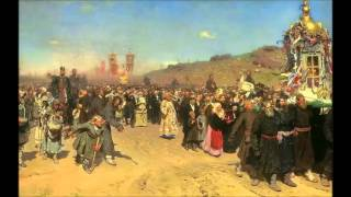 Religious Procession in Kursk Province (Ilya Repin)