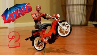 SPIDERMAN Stop Motion Action Part 2