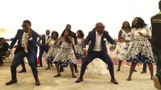 A beautiful wedding dance ever - makadii back to back with chekecheke