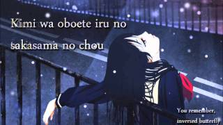 Sakasama no Chou by SNoW (with lyrics+eng lyrics)