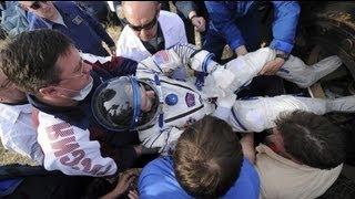 Soyuz, dünyaya geri döndü