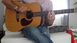 Est ce que tu m'aimes-Maître Gims-guitare