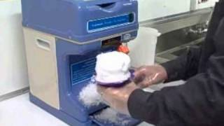Used shaved ice machine