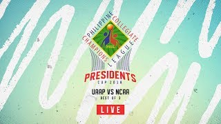 LIVE: UAAP vs NCAA - Game 1 of Best of 3 | PCCL Presidents Cup 2018