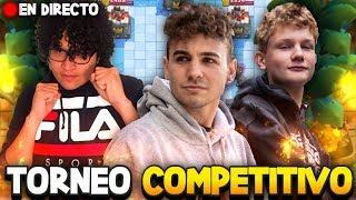 TORNEO COMPETITIVO CONTRA TOP PLAYERS - Soking - Clash Royale en español.