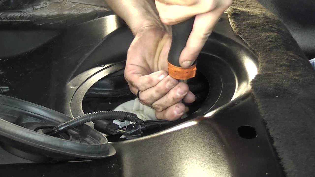 hight resolution of ba fuel pump removal avi youtube 2005 ford f350 diesel fuel filter location 2012 ford diesel
