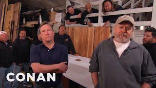 The CONAN Crew Demand A Better Nut Spoon - CONAN on TBS