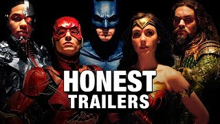 Watch Honest Trailers - Justice League Video