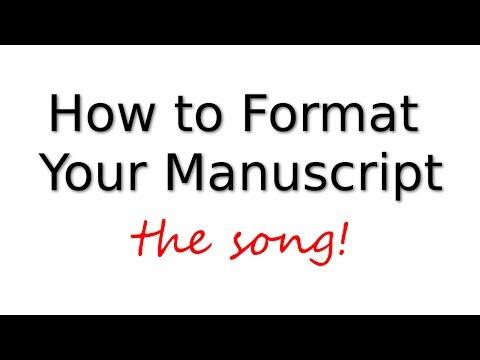 Manuscript Format