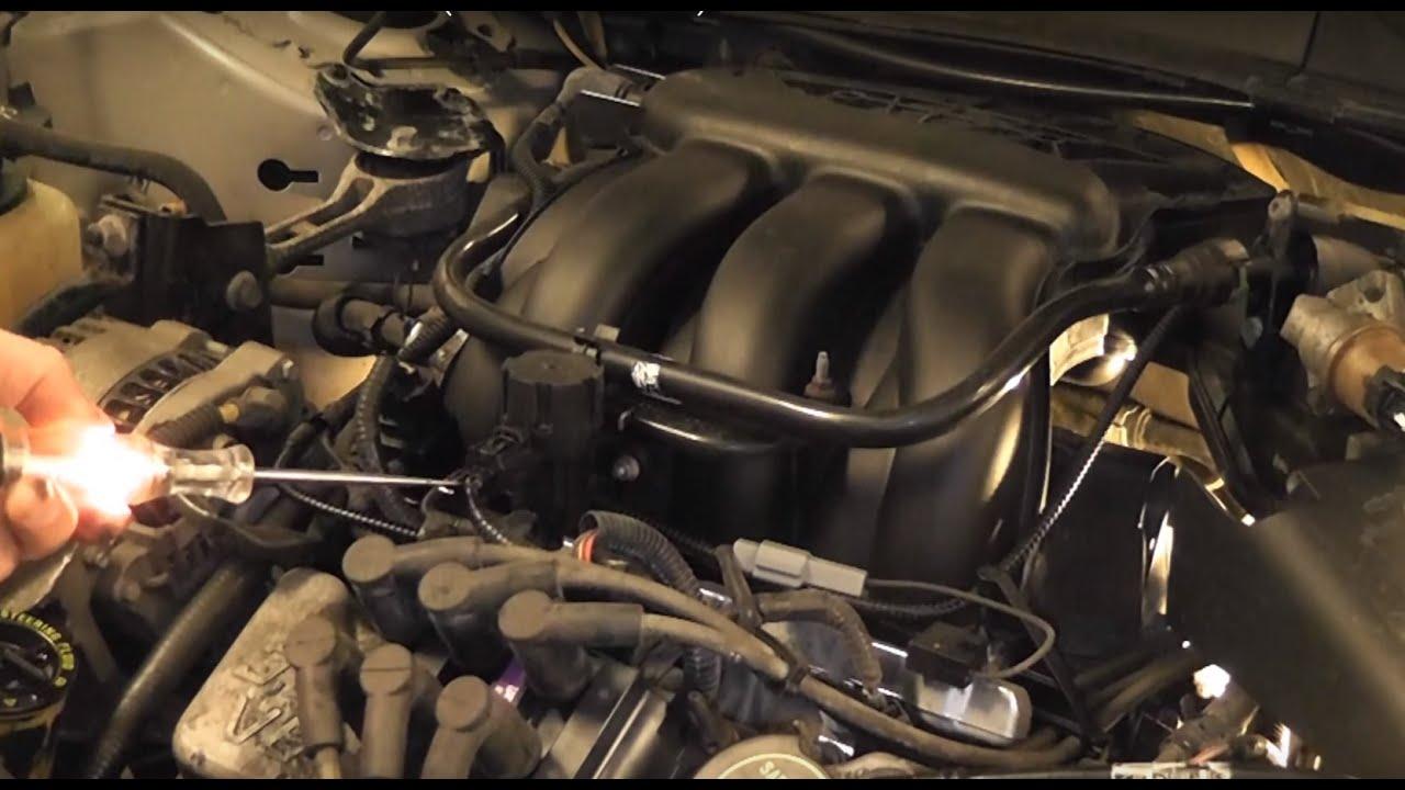2006 Ford F 150 Fuel System Diagram 2007 Ford Taurus Egr System Testing P0405 Case Study Youtube