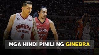 Mga Players na Sinayang ng Barangay Ginebra | PBA Draft Snub