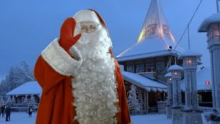 Santa Claus Village in Lapland: home of Father Christmas Rovaniemi Finland message to children