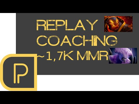 Replay Coaching 17k MMR Ember Mid Void Carry Phim
