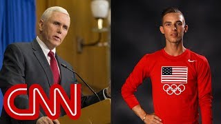 USA Today: Gay US Olympian passes on Pence meeting