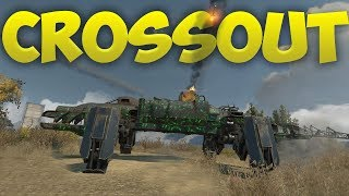 Crossout - The Oddest Vehicles! - High Flying Rocket Launcher, Croc Mech & More! - Crossout Gameplay