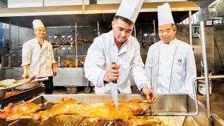 Chinese Street Food INSANE BBQ Tour in Sichuan, China - SZECHUAN SAUCE BBQ Lamb + Sichuan BBQ Rabbit