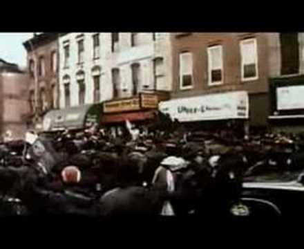 Notorious BIG funerals Tribute in Brooklyn YouTube