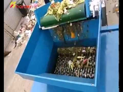 kitchen waste shredder  YouTube