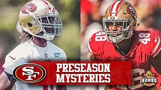 Live! Who's The 49ers Surprise Offseason Standout? And Why Is Fred Warner Endorsing Alex Brown?