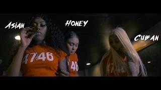 Honey Oso x Cuban Doll x Asian Doll - Gangsta