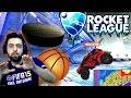 Cezali Rocket League| Ümidilerin Gücü | Buz Hokeyi ve Basketbol Modu | Ps4
