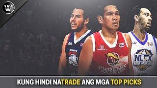 Teams ng mga #1 Draft pick kung Hindi sila na-TRADE | PBA Draft